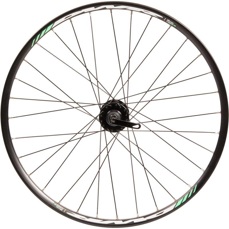 RUOTE BICI BAMBINO Ciclismo, Bici - Ruota anteriore 24 disco BTWIN - PEZZI DI RICAMBIO BICI BAMBINO