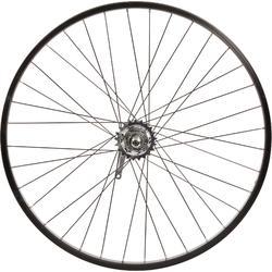 Roue vélo enfant CRUISER 26 pouces arrière simple paroi nexus3 tambour noir