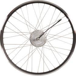 """Rueda bicicleta eléctrica 28"""" b900 36v delantera"""