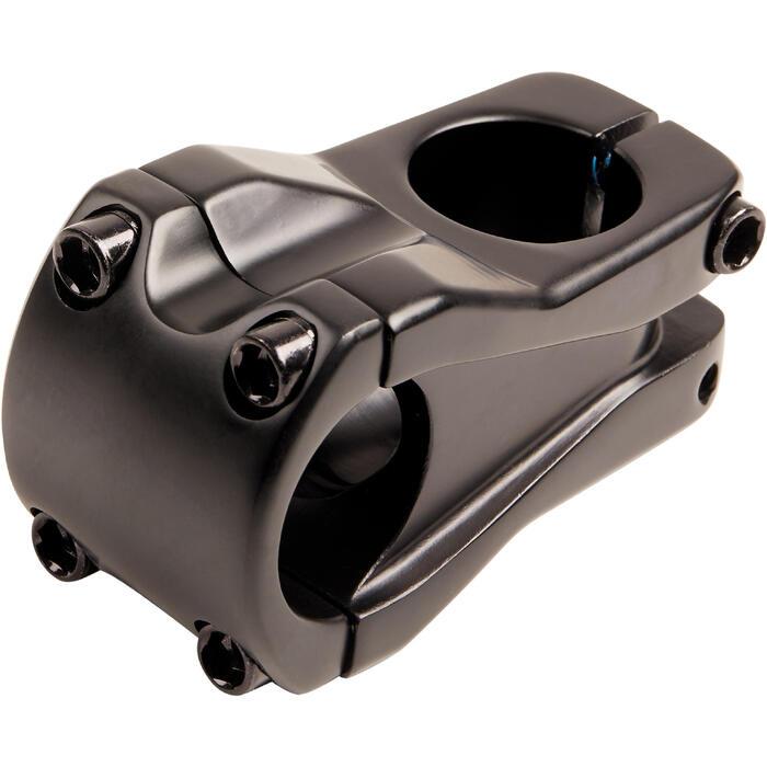 Potence BMX aheadset 1 1/8 pouce 50 mm pour cintre de 31.8 mm de diamètre noir