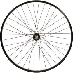 Roue vélo enfant CRUISER 26 pouces avant simple paroi noir