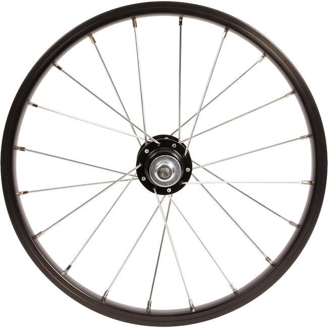 Kids' Bike Wheel 16_QUOTE_ Rear - Black