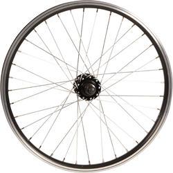 Roda traseira BMX 20 polegadas eixo 14 mm