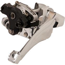 Voorderailleur X5 3x9 34,9 mm top en down pull lage klemband