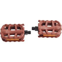 """pedales infantiles 20""""/24"""" marrón"""