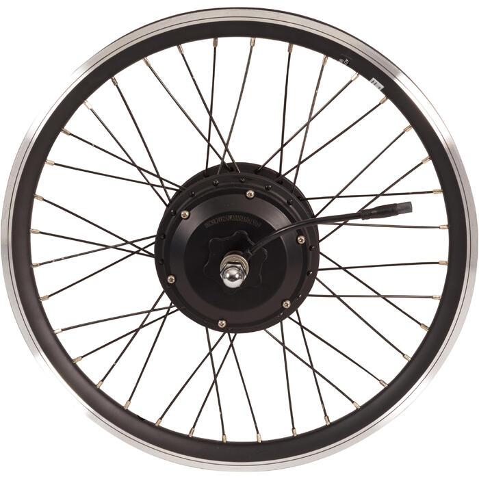 Hinterrad für Klapprad-E-Bike Doppelwandfelge 24V Tilt 500E schwarz