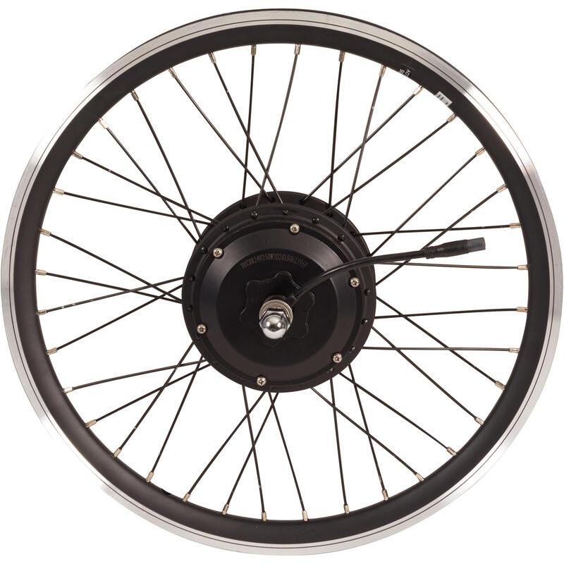 Roue vélo pliant arrière double paroi motorisé 24V noir Tilt 500E