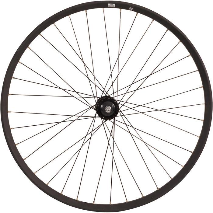 rueda de ciudad delantera 28 dp disc negro