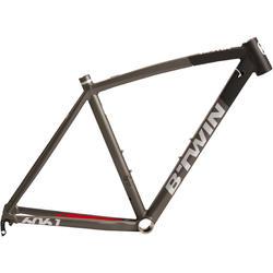 Fahrradrahmen Ultra AF schwarz/grau
