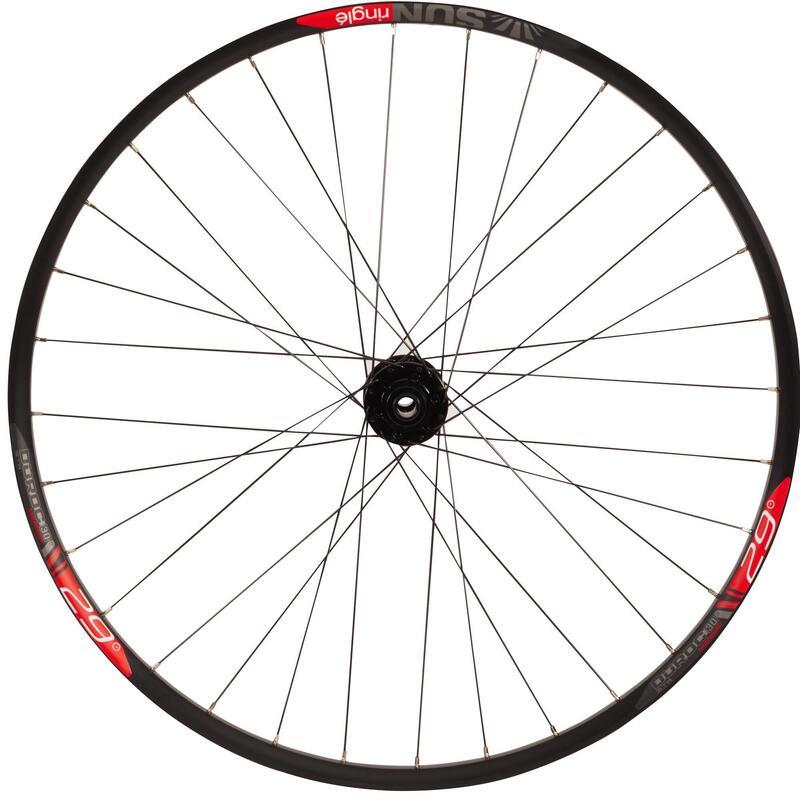 "Rueda Bici MTB 29"" Delantera Frenos Disco Doble Pared Boost 15x110 (Tubeless)"