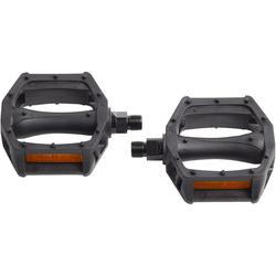 """pedales 20""""/24"""" 9/16 noir"""