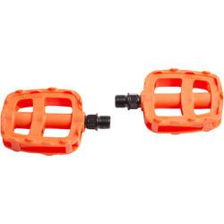 Pédales vélo enfant 16 et 20 pouces orange