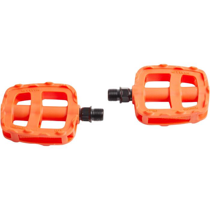 Pedalen voor kinderfietsen 16 en 20 inch oranje