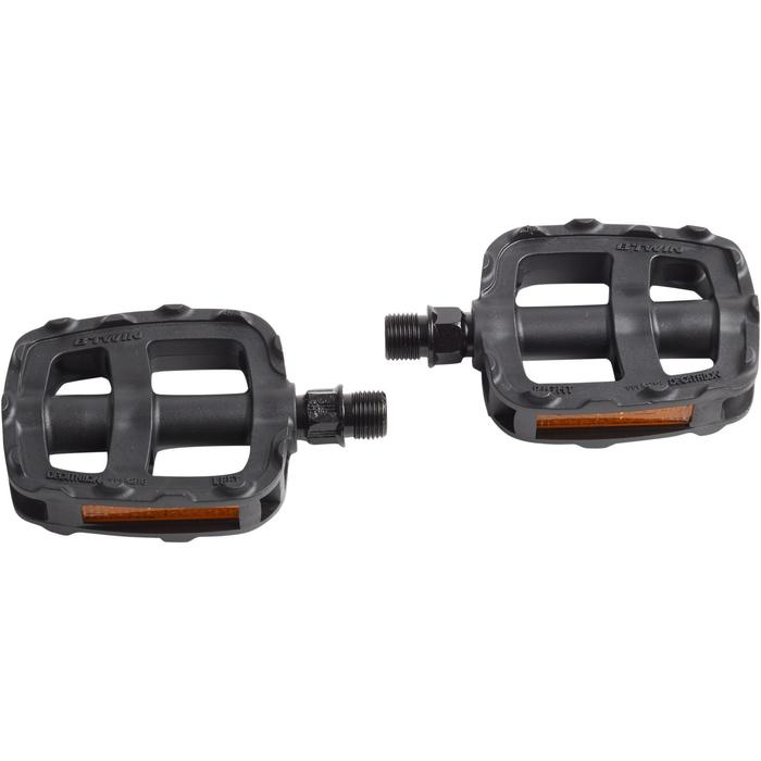 Pedalen voor kinderfietsen 16 en 20 inch zwart