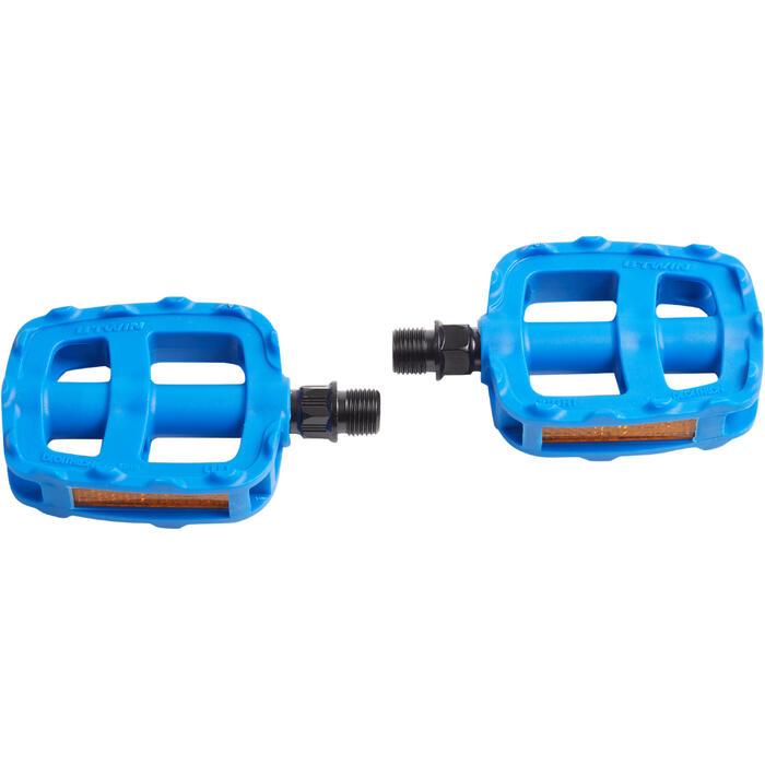 Pédales vélo enfant 16 et 20 pouces bleu