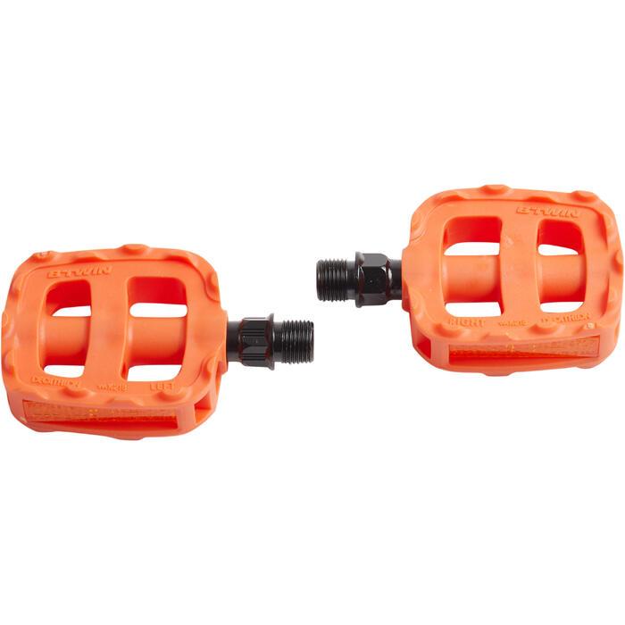 Pedale Kinderfahrrad 12 und 14 Zoll orange