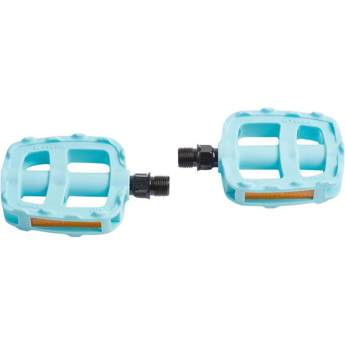 Pedalen kinderfiets 16 en 20 inch blauw