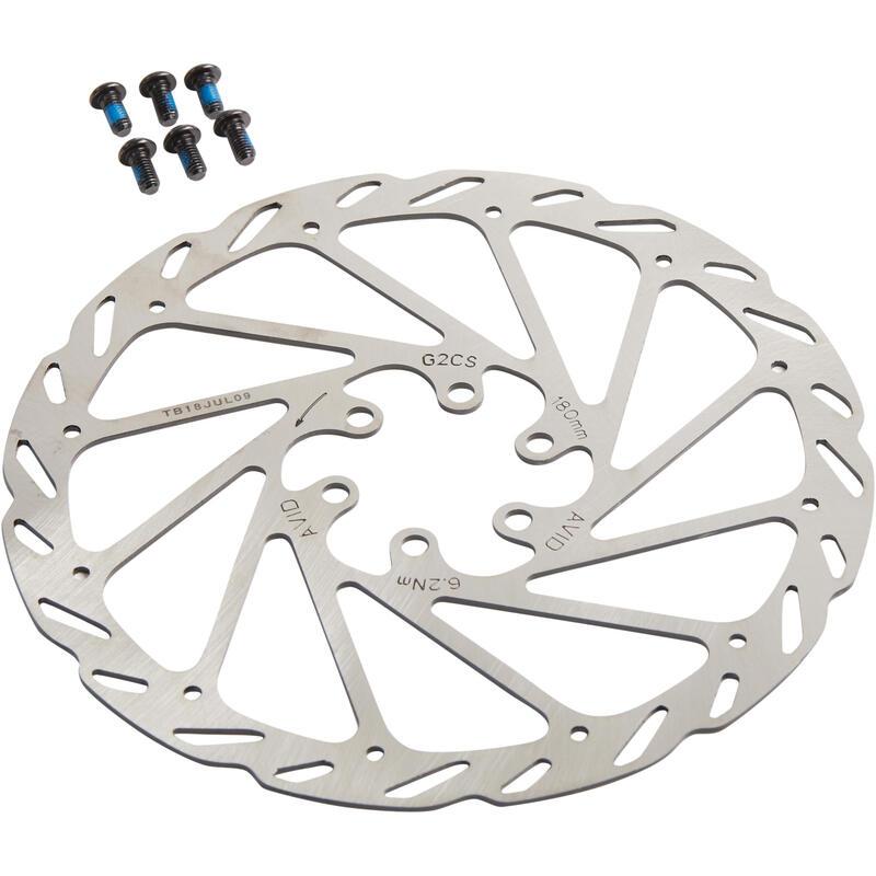 Brake Disc Rotor 180 mm 6 Bolts Avid Elixir
