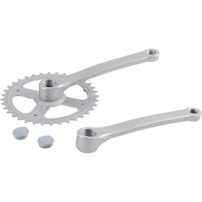 pedalier mono 36t 170 mm gris