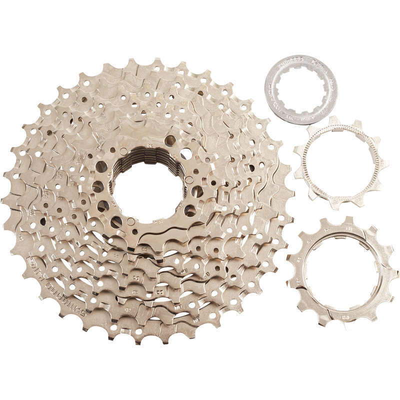 BIKE GEARING Cycling - Shimano 9S 11-34 HG40 Cassette SHIMANO - Bike Brakes and Transmission