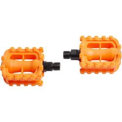 Pédales vélo enfant 12 et 14 pouces orange