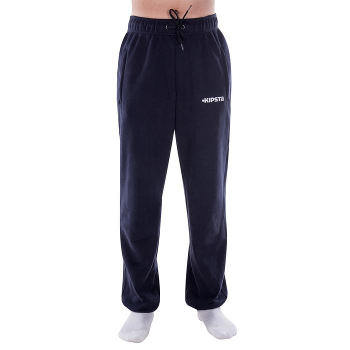 T500 Adult Brushed Jersey Bottoms - Navy