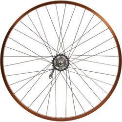 rueda cruiser 26 trasera nexus3 tambor marrón