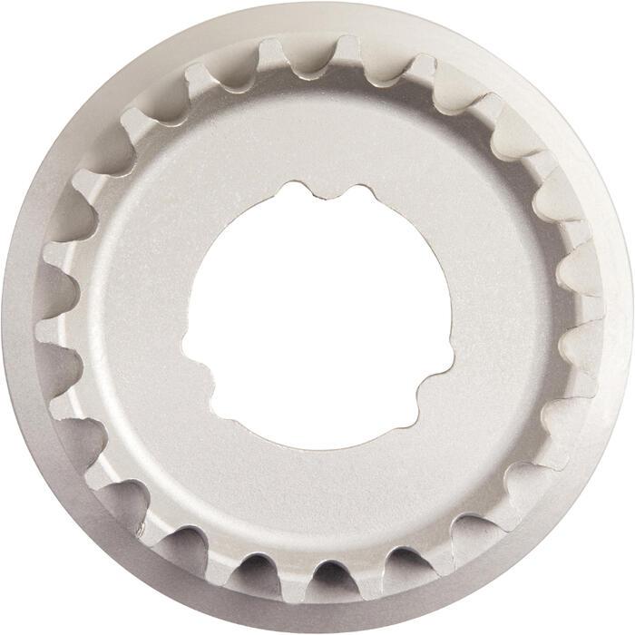 Tandwiel metaal 11mm, 22