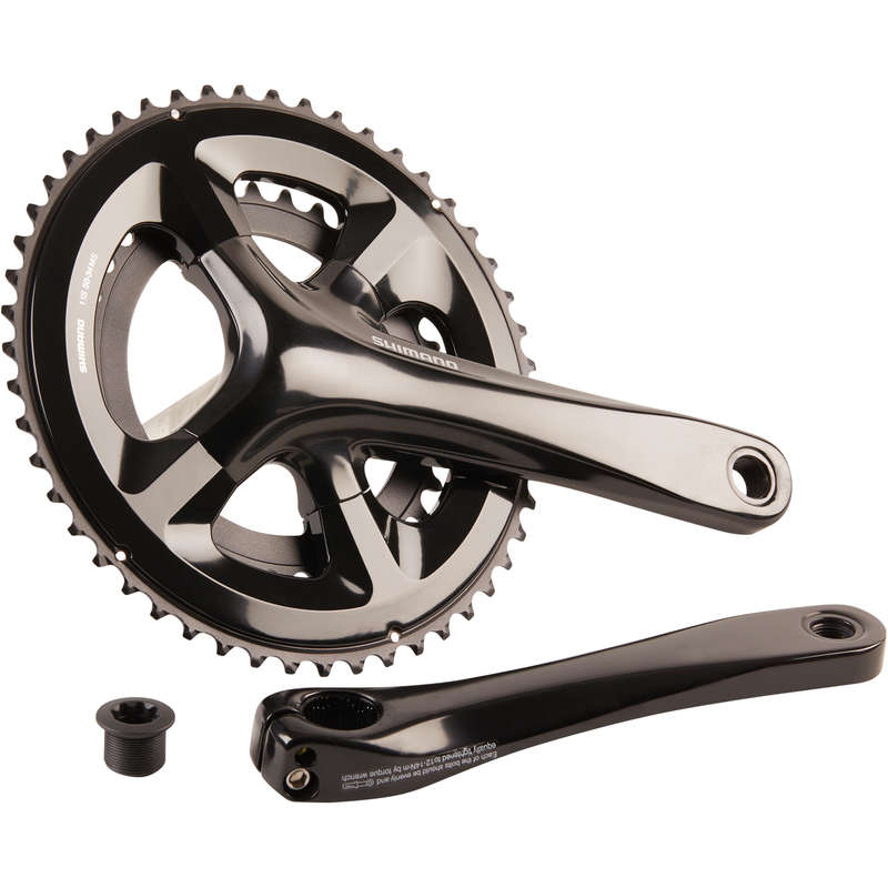 GEARING ROAD Cycling - FC-RS510 Road Bike Chainset - 50x34 WORKSHOP - Bike Brakes and Transmission