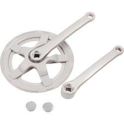 Einfach-Kurbelsatz 40t 170 mm silber