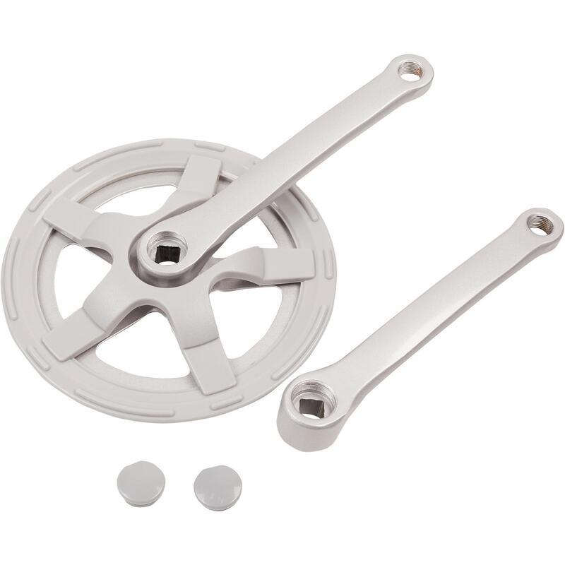 Crankstel mono 40t 170 mm zilver