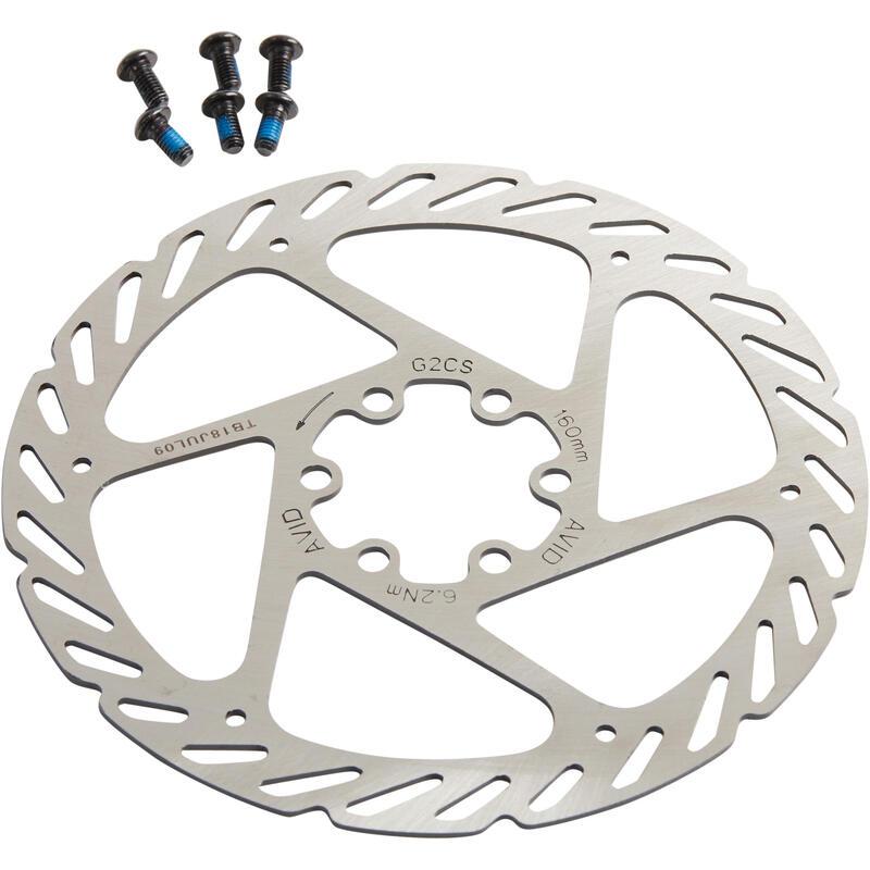 REMSCHIJF ELIXIR 160 mm 6 gaten