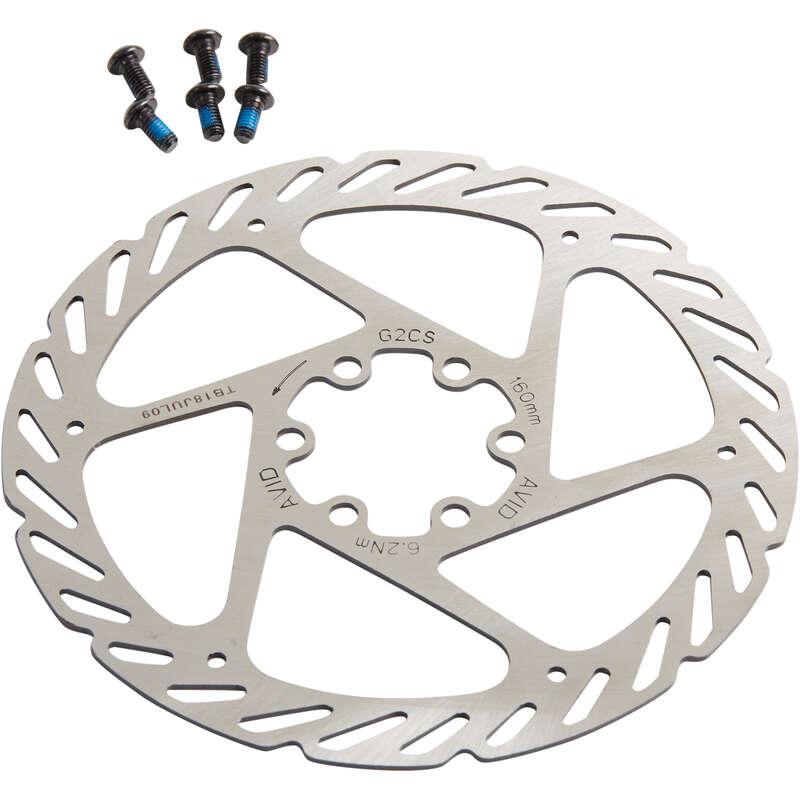 Brzdy Cyklistika - BRZDOVÝ KOTOUČ 160 MM AVID - Náhradní díly na kolo