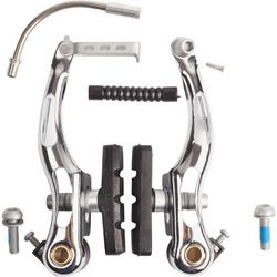 Bremszangen V-Brake Stahl silber
