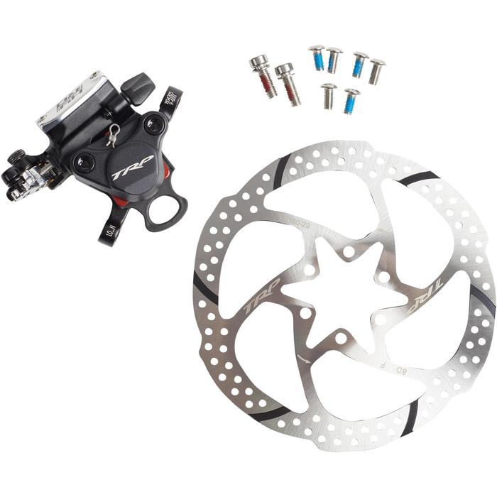 kit travão de disco mecânico hidro trp hidráulico