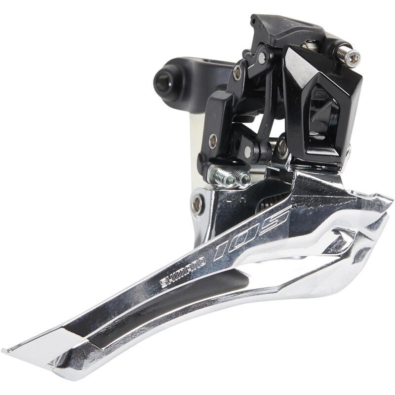 Deragliatore anteriore doppia corona Shimano 105