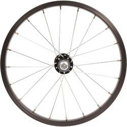 Rueda bicicleta júnior 16 pulgadas delantera eje OLD100 negro