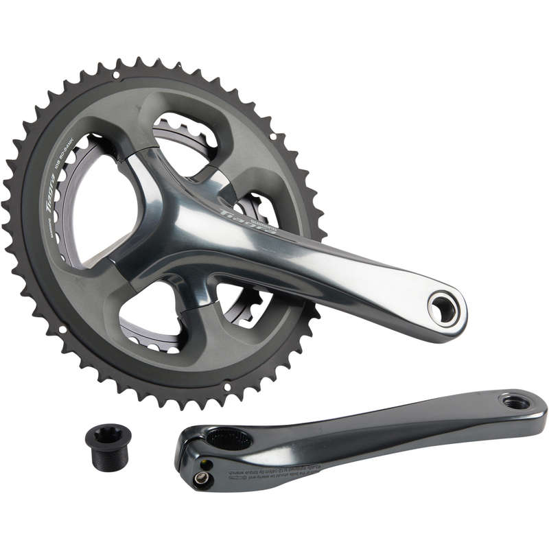 GEARING ROAD Cycling - Tiagra 4700 10S 50/34 Chainset WORKSHOP - Bike Brakes and Transmission
