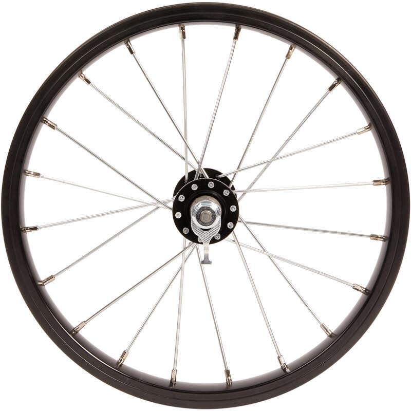 RUOTE BICI BAMBINO Ciclismo, Bici - Ruota anteriore bici 14 WORKSHOP - PEZZI DI RICAMBIO BICI BAMBINO