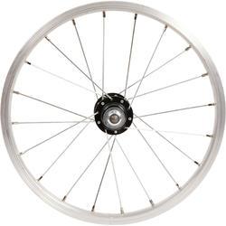 Freewheel voor achterwiel van 16 inch-kinderfiets trommelrem/V-brake zilver