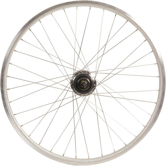 rueda bicicleta eléctrica 28 tr elops 7