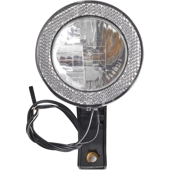 Voorverlichting voor dynamo met lamp