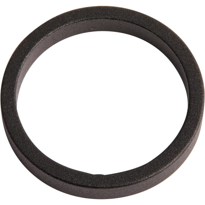 """Abstandhalter 1""""1/8 Ahead 5mm, Außendurchmesser:34 mm schwarz"""
