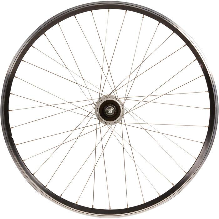 Laufrad Vorderrad Trekkingbike 26 DP schwarz