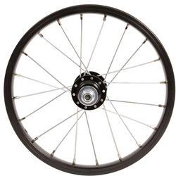Freewheel voor achterwiel van 14 inch-kinderfiets trommelrem/V-brake zilver