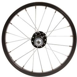 Roue vélo enfant 14 pouces arrière roue libre frein tambour/vrake noir