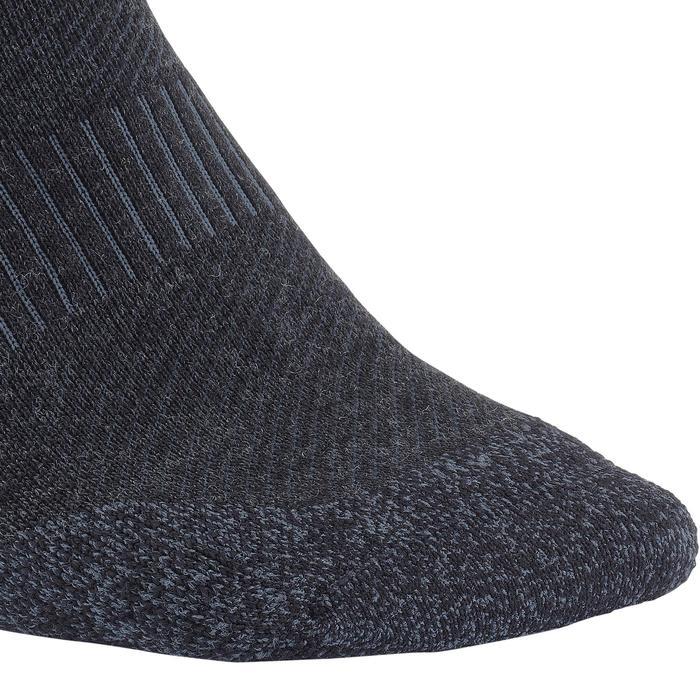 Calcetines ADULTOS marcha deportiva/nórdica SK 580 Warm negros