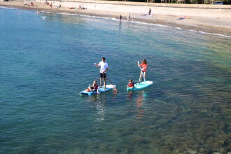 stand up paddle med barn