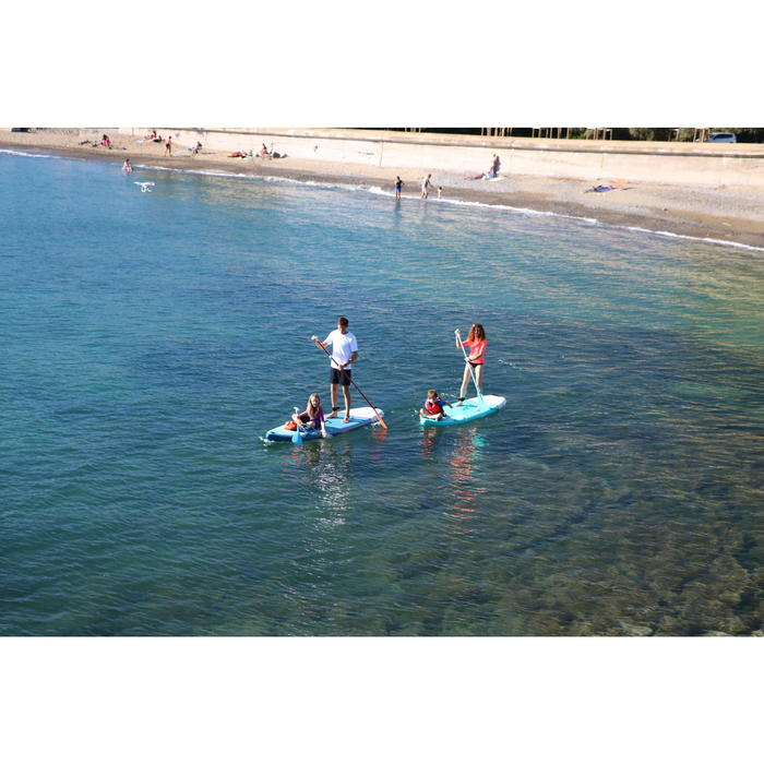 SUP-Board Stand Up Paddle aufblasbar X100 Touring Einsteiger 11' blau
