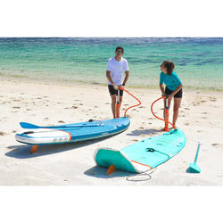初階充氣式旅行立式划槳板 10'-綠色